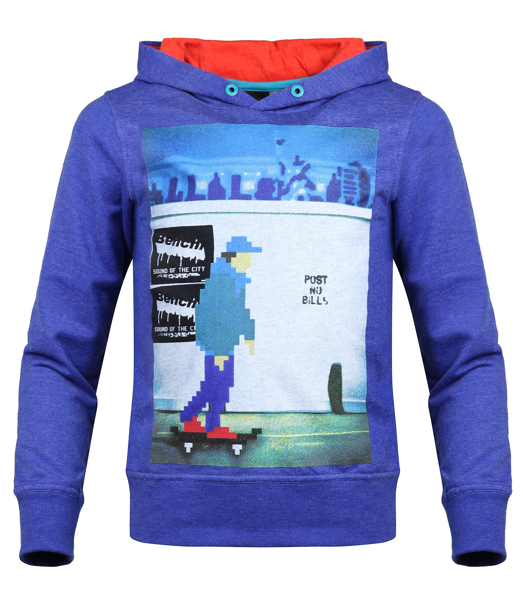 Boys hooper hooded graphic sweatshirt