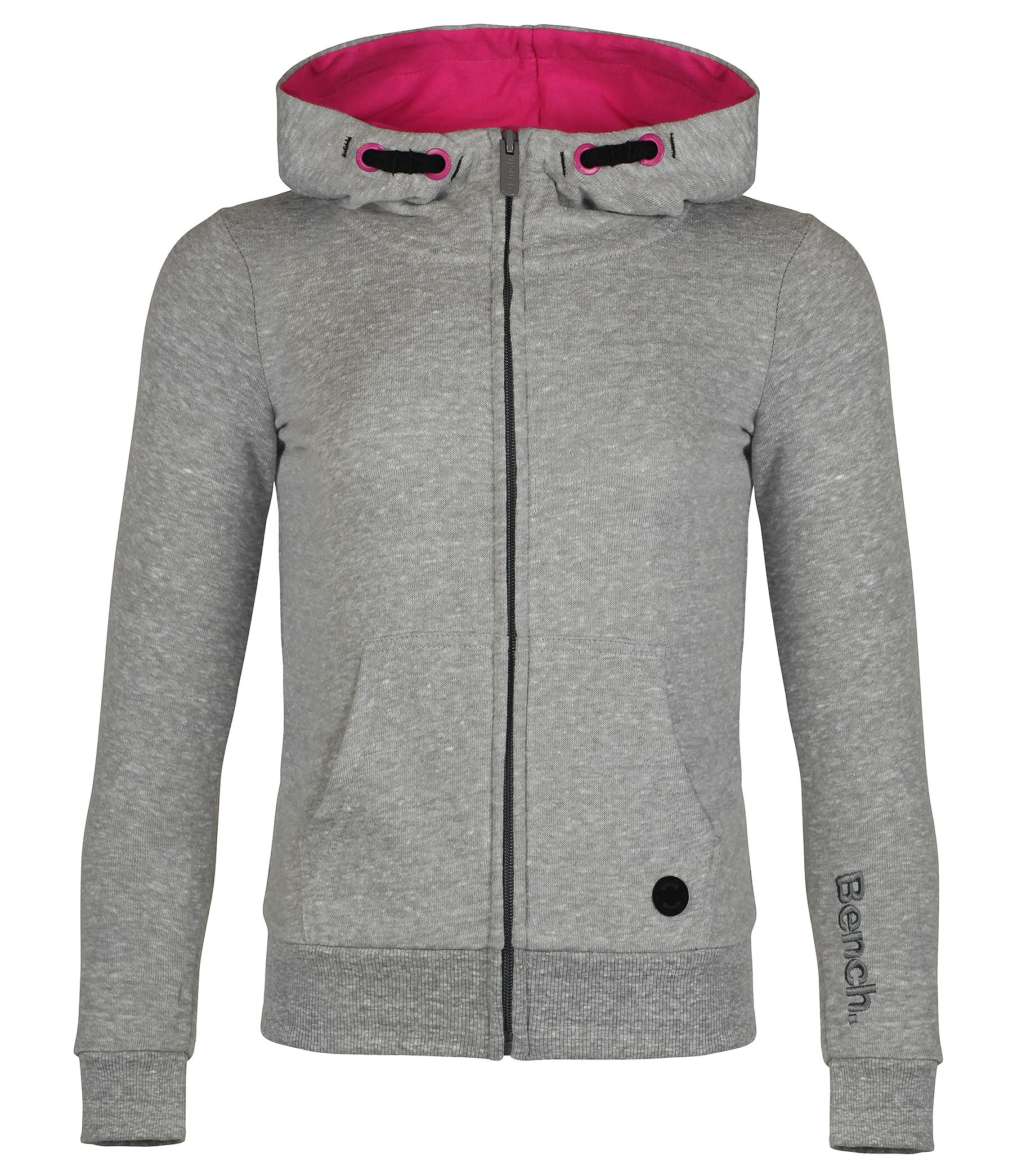 Girls lowcloud hooded zip up sweatshirt