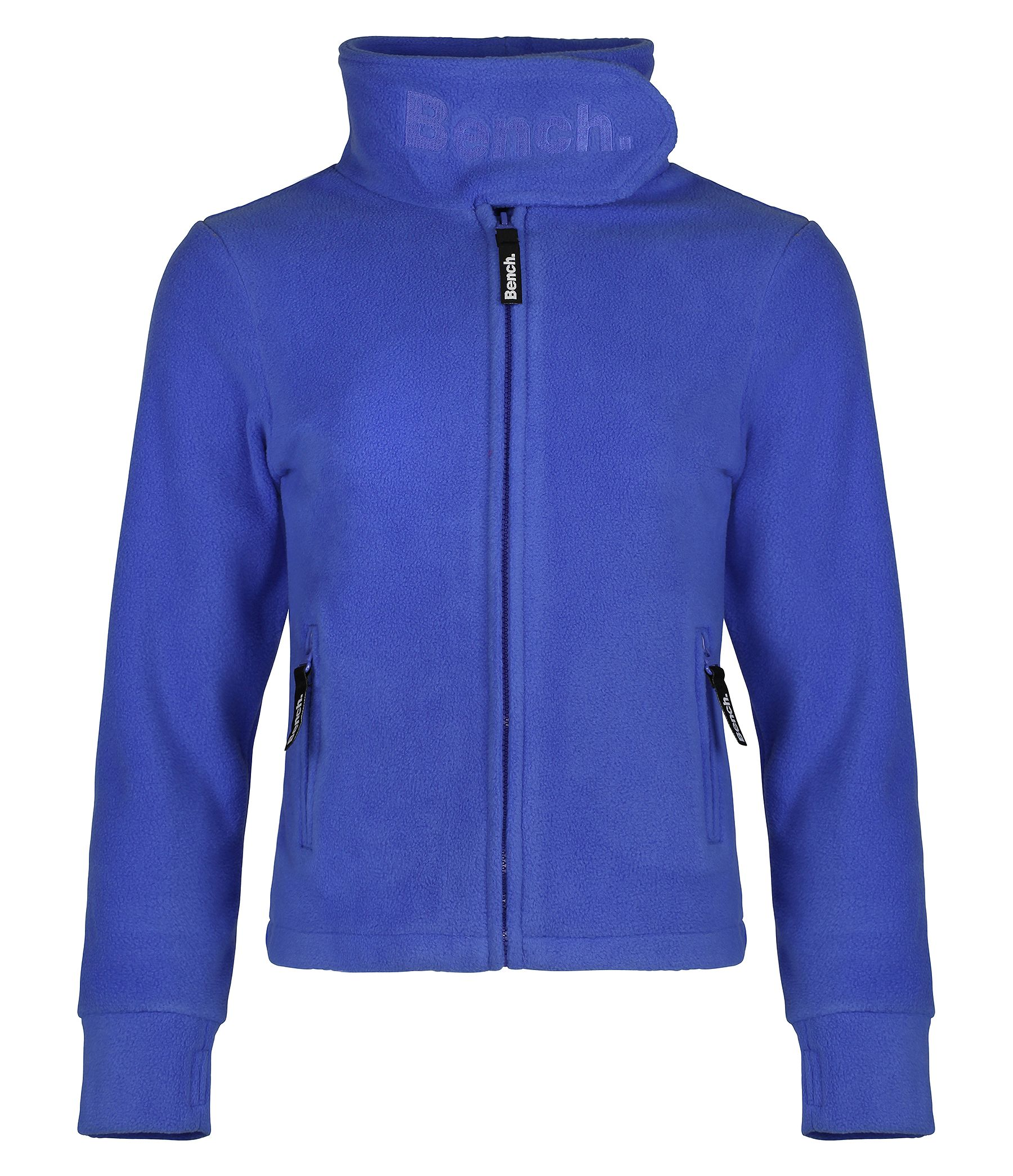 Girls funnel neck fleece jacket