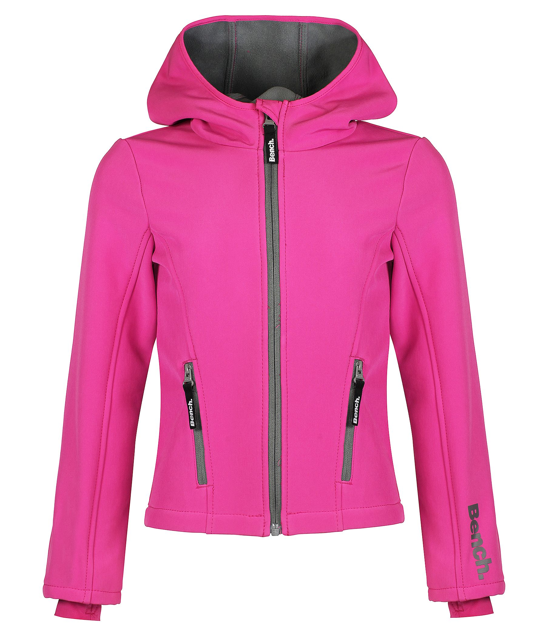 Girls turtlehood hooded light jacket
