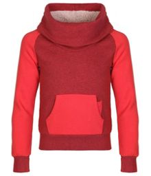 Girls sleetballoon funnel neck sweater