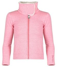 Girls cosycake zip funnel neck fleece
