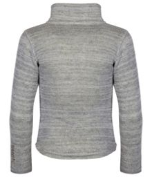 Girls bonded funnel neck fleece