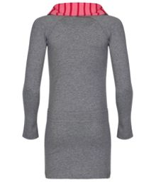 Girls twotown long sleeve knitted dress