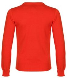 Boys millerflip v neck sweat