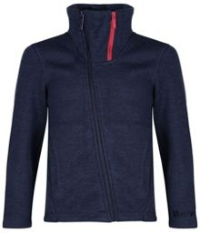Boys tailside funnel neck zip top