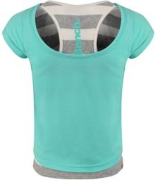 Girls elladay double layer top