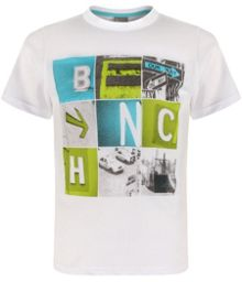 Boys big city crew neck print t-shirt