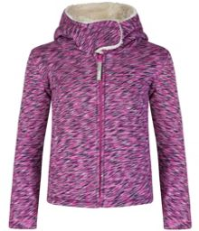 Girls Outer space zipped hoody