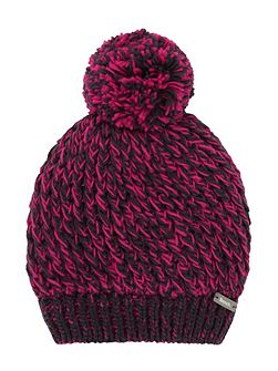 Girls Festive gem beanie hat
