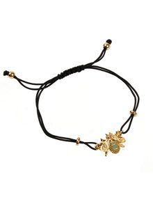 Bumble bee bracelet on gift card