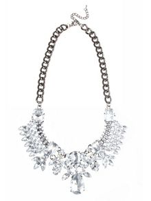 Bacall crystal necklace