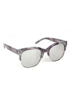 Mercury half metal rim sunglasses