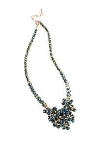 Gaby Esta beaded cluster necklace