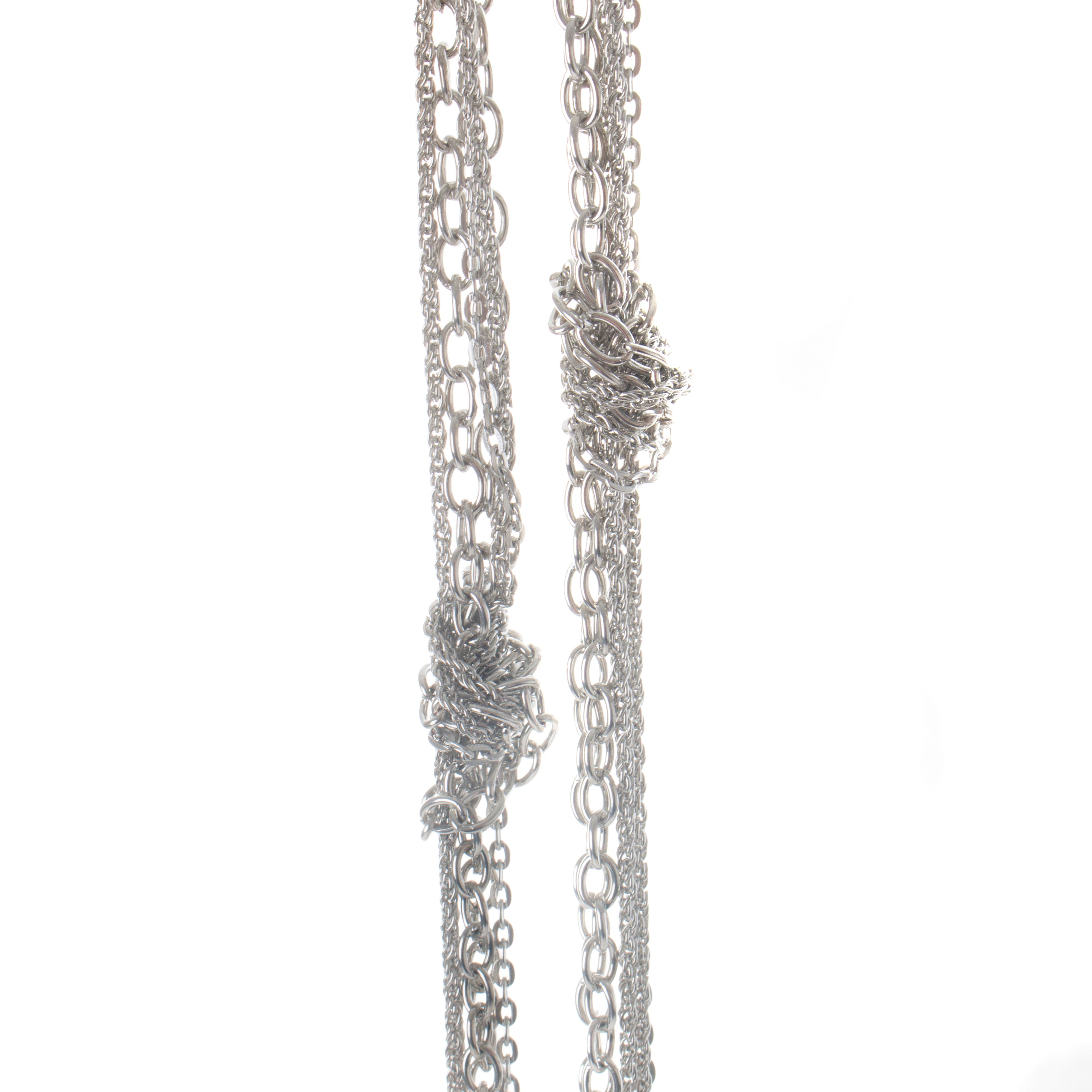 Gaby Gaby Aria knotted chain necklace, N/A