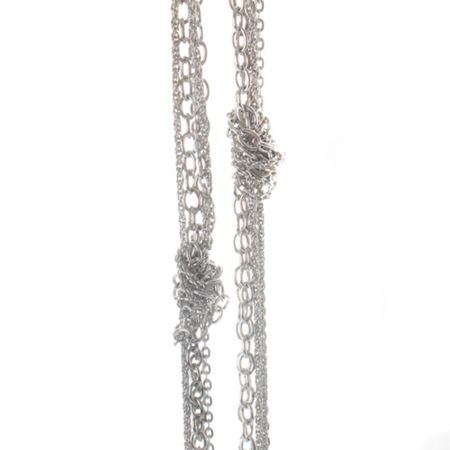 Gaby Aria knotted chain necklace