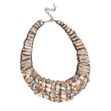 Gaby Skyla beaded collar necklace