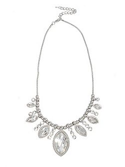 Vania deco crystal necklace
