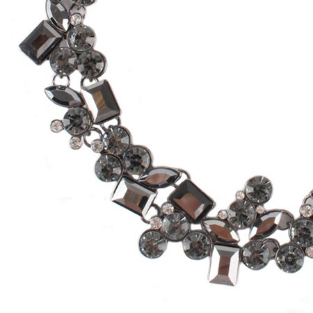 Gaby Vicensa crystal collar necklace
