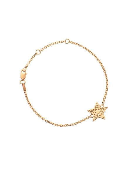 Chavin Rose gold  filigree star bracelet