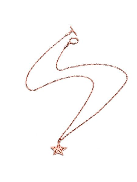 Chavin Rose gold  star pendant