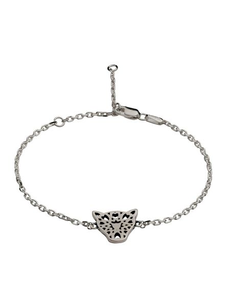 Chavin Silver filigree jaguar head bracelet