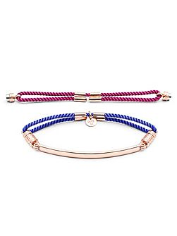 Rose gold interchangable bracelet - pv