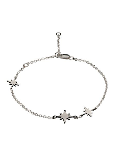 Chavin Silver three star bracelet