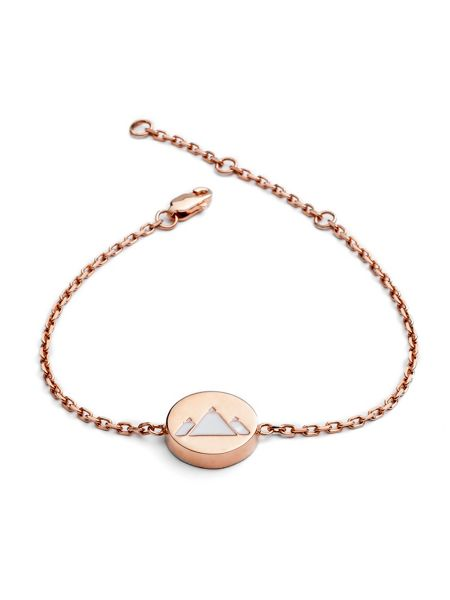 Chavin Rose gold earth feline bracelet