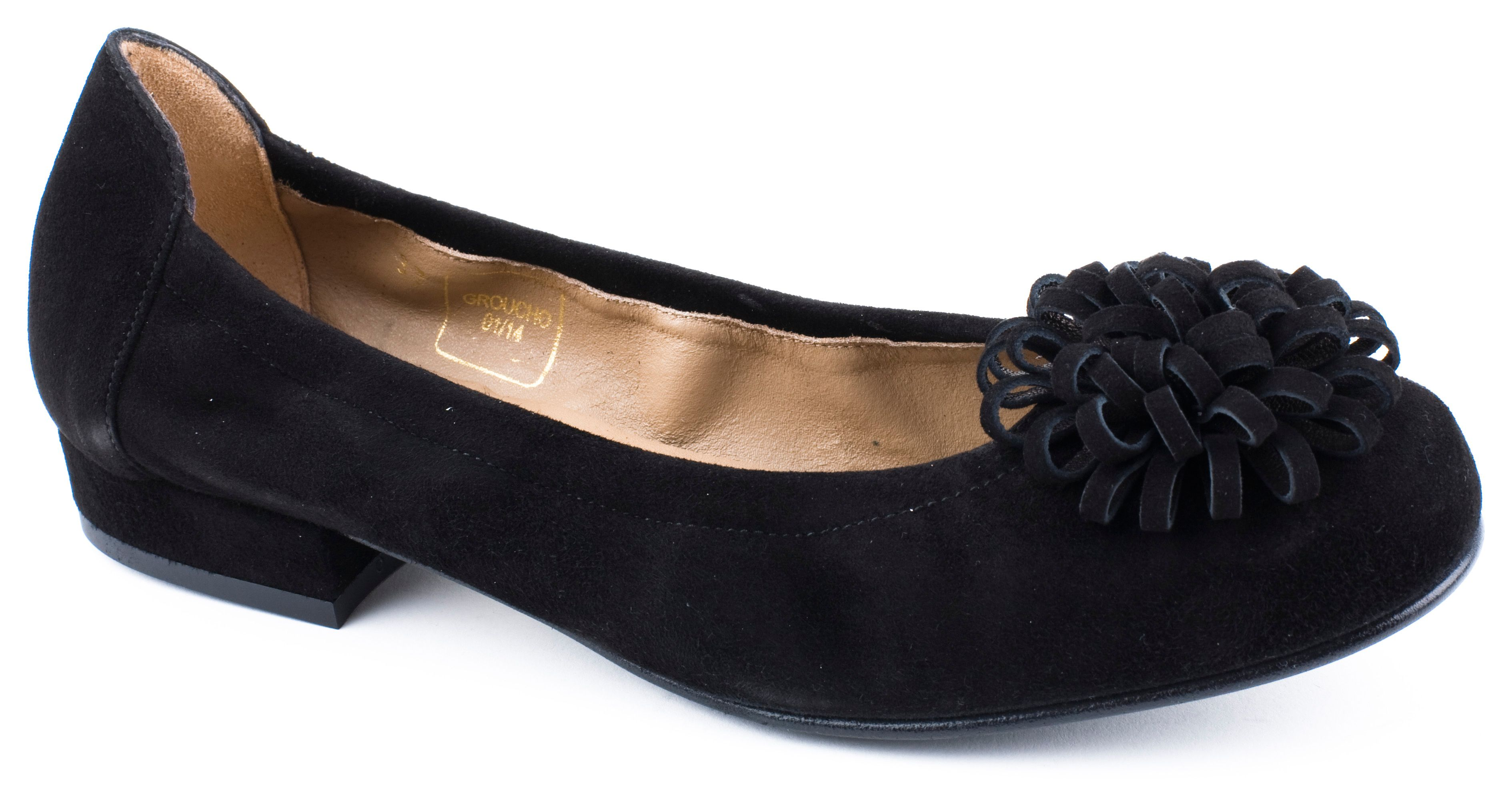 Groucho ballerina pumps