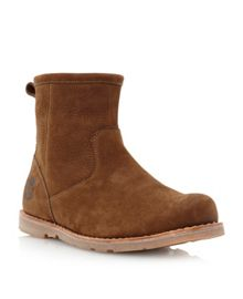 5063A-smooth side zip boot