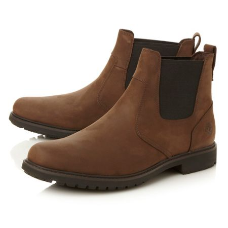 Timberland 5552R heavy round roe chelsea boot