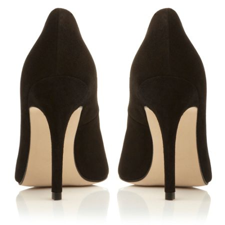 Dune Alvino pointed court shoes