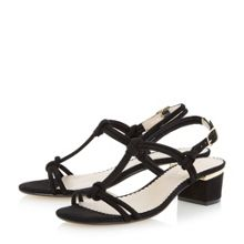 Head Over Heels Innoko block heel tubular sandal