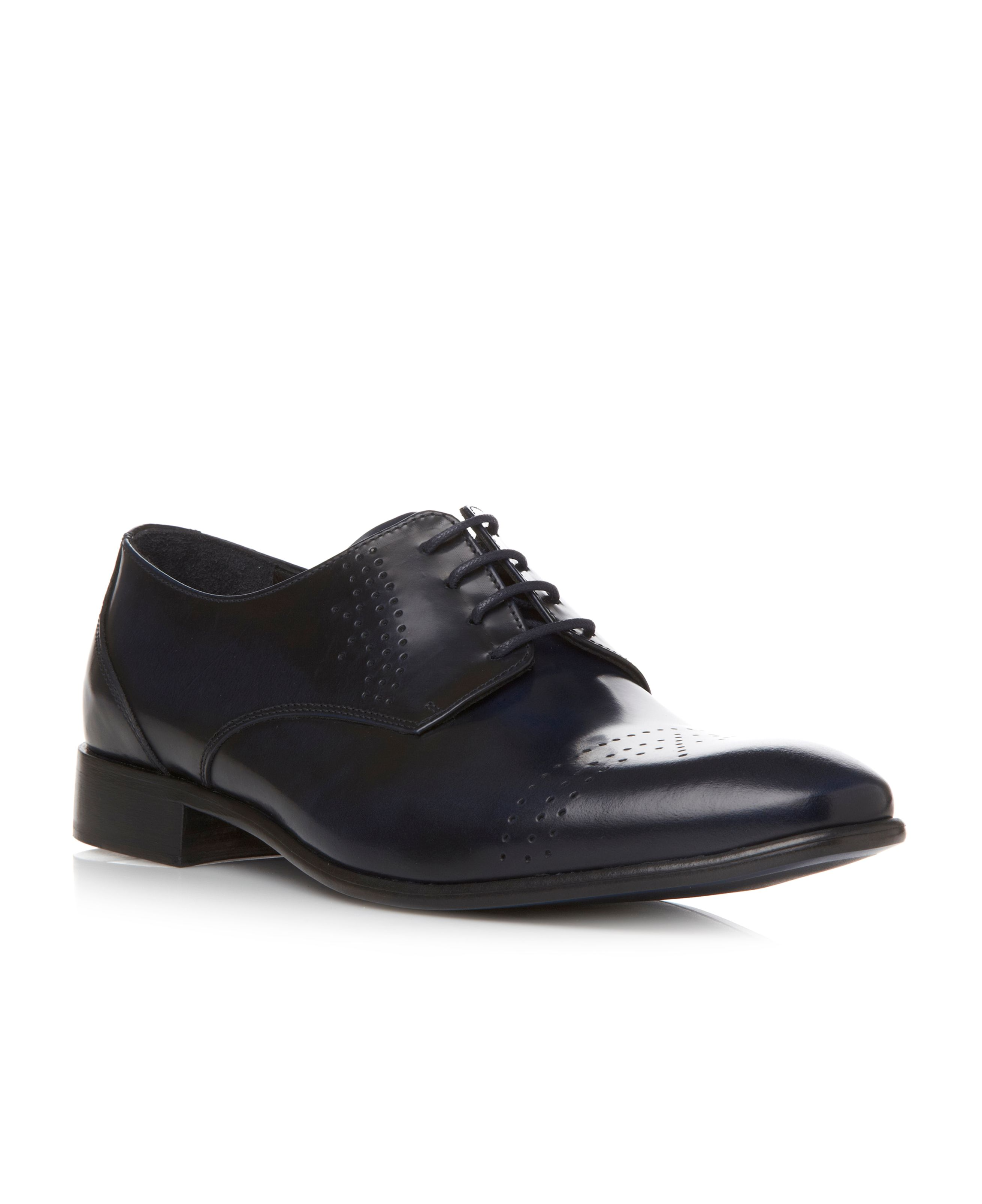 Absolutely punched toecap detail formal shoes
