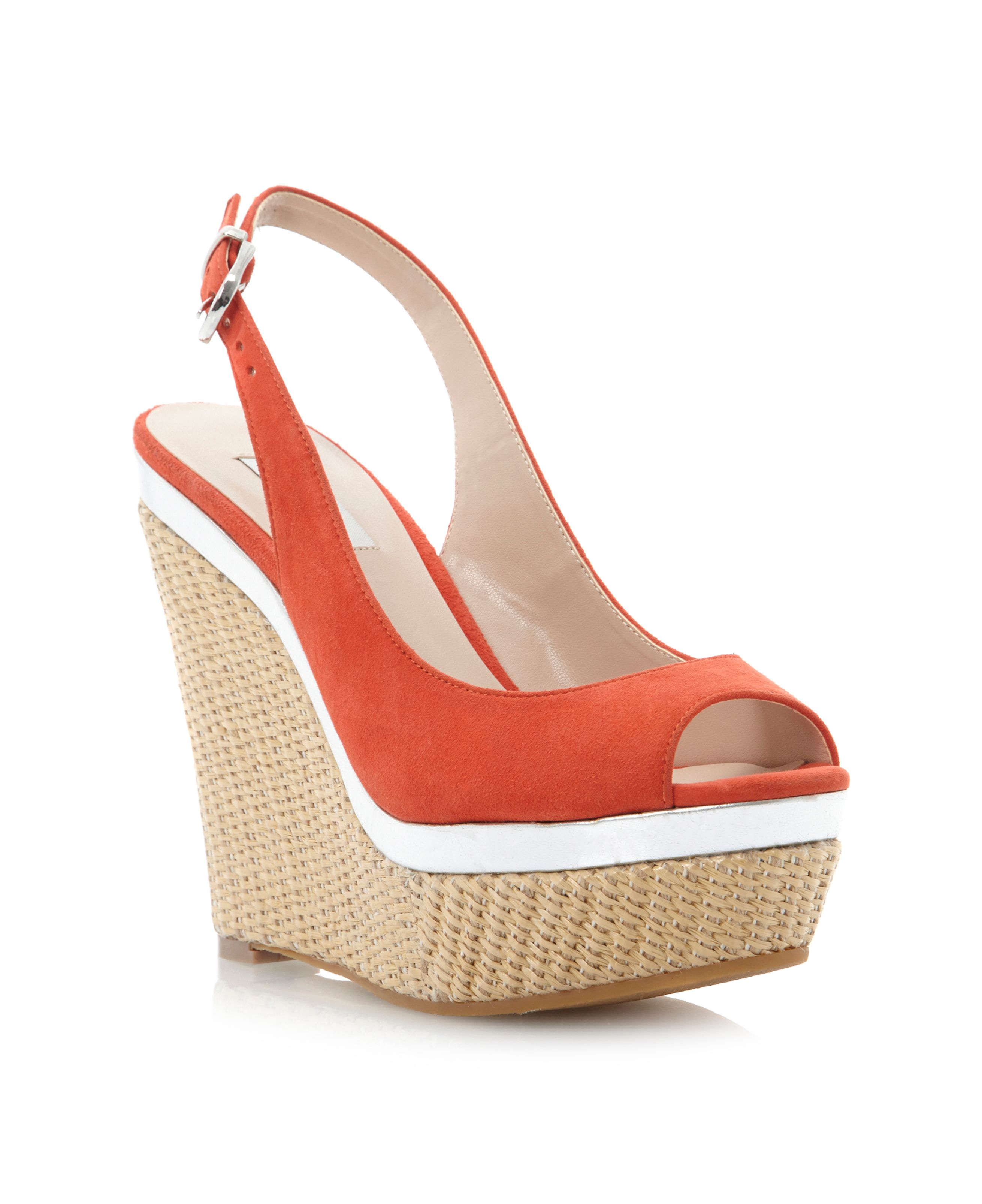 Huntington platform wedge sandals