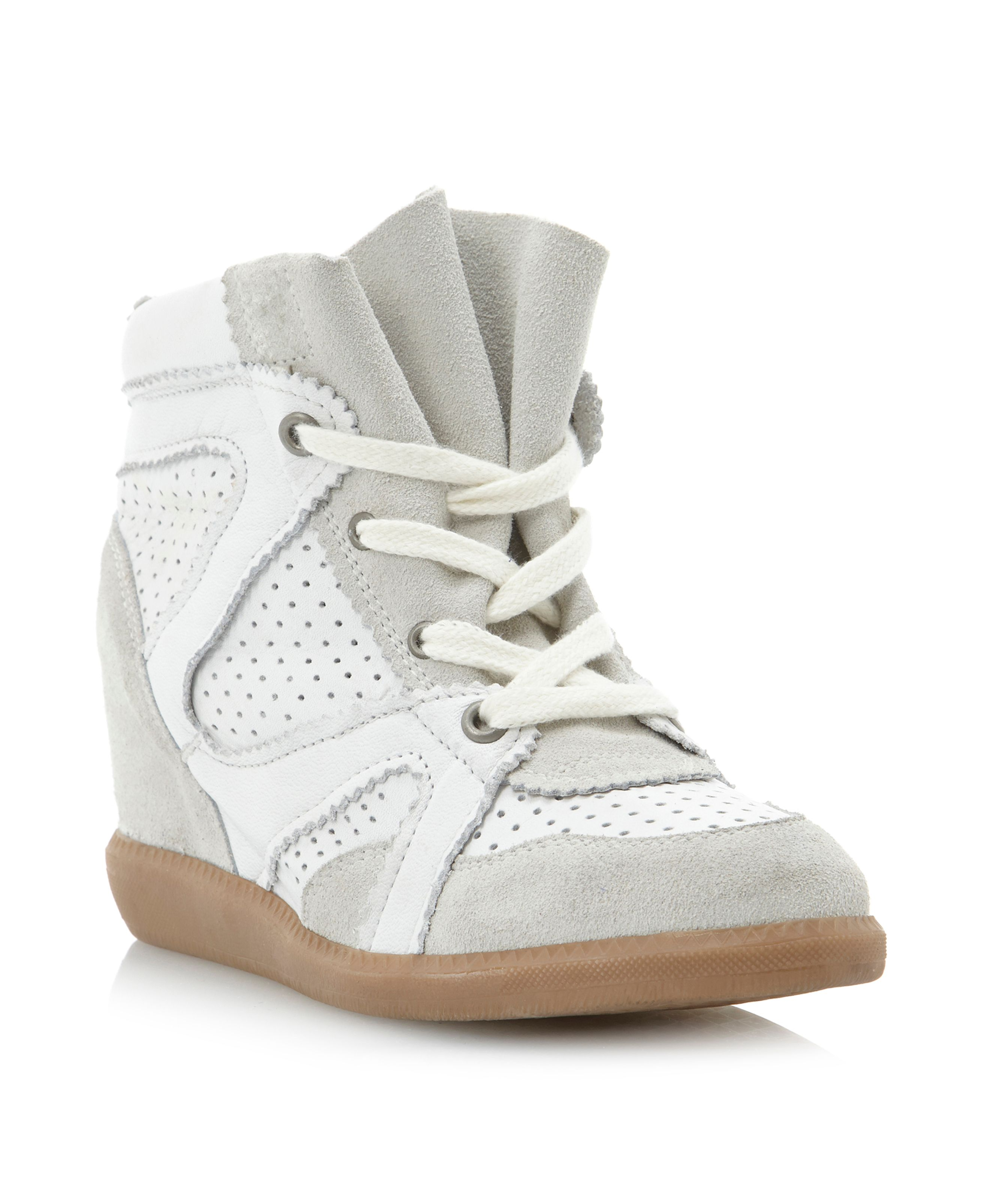 Pamelia wedge trainer shoes
