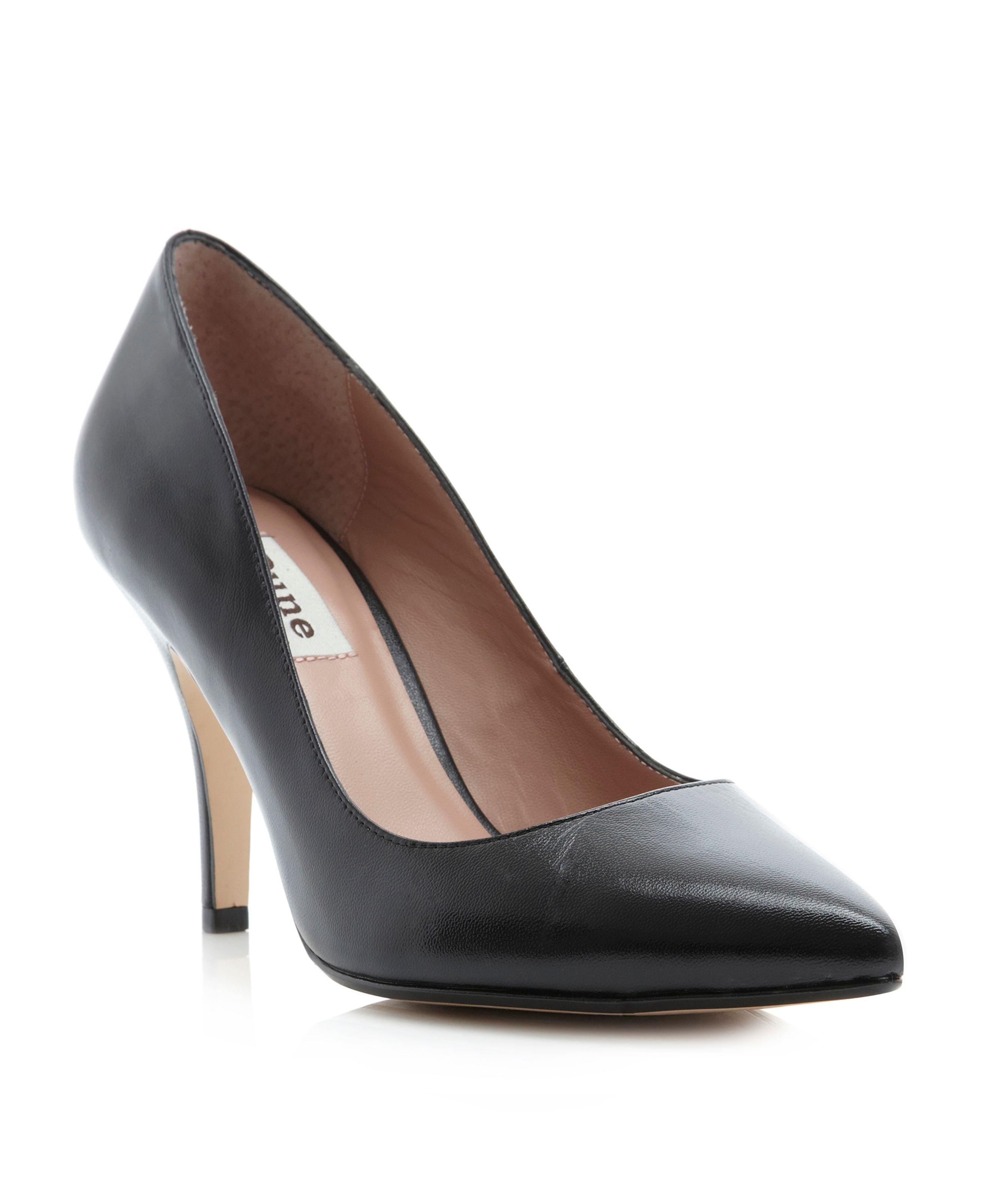Appoint pointed work court shoes