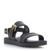 Dune Locker 2 part buckled sandal