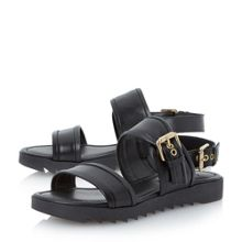 Locker 2 part buckled sandal