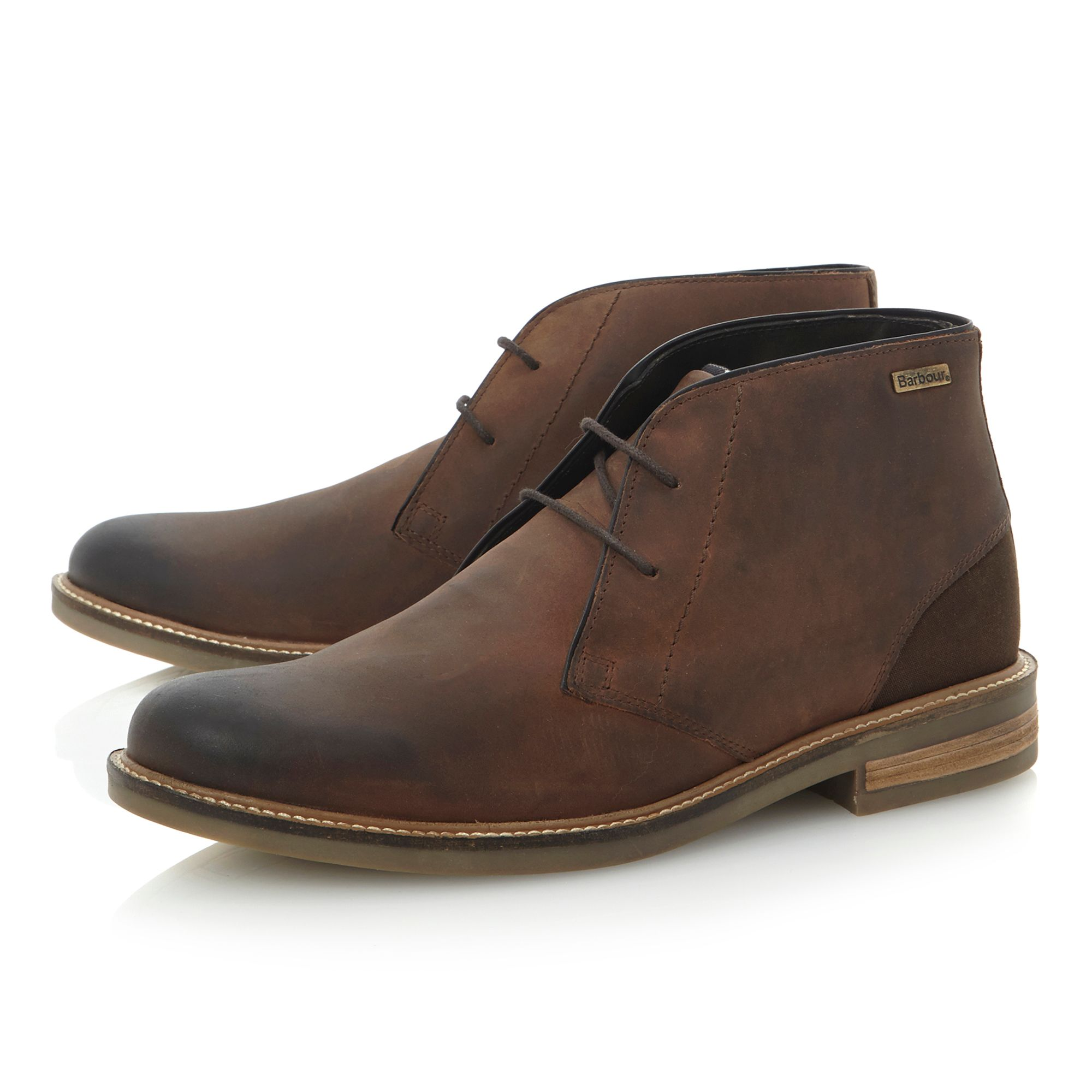 Readhead-plain toe chukka boot