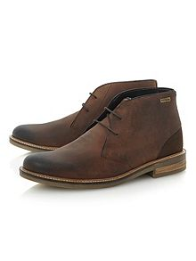 Leather Chukka Boots Men - Cr Boot