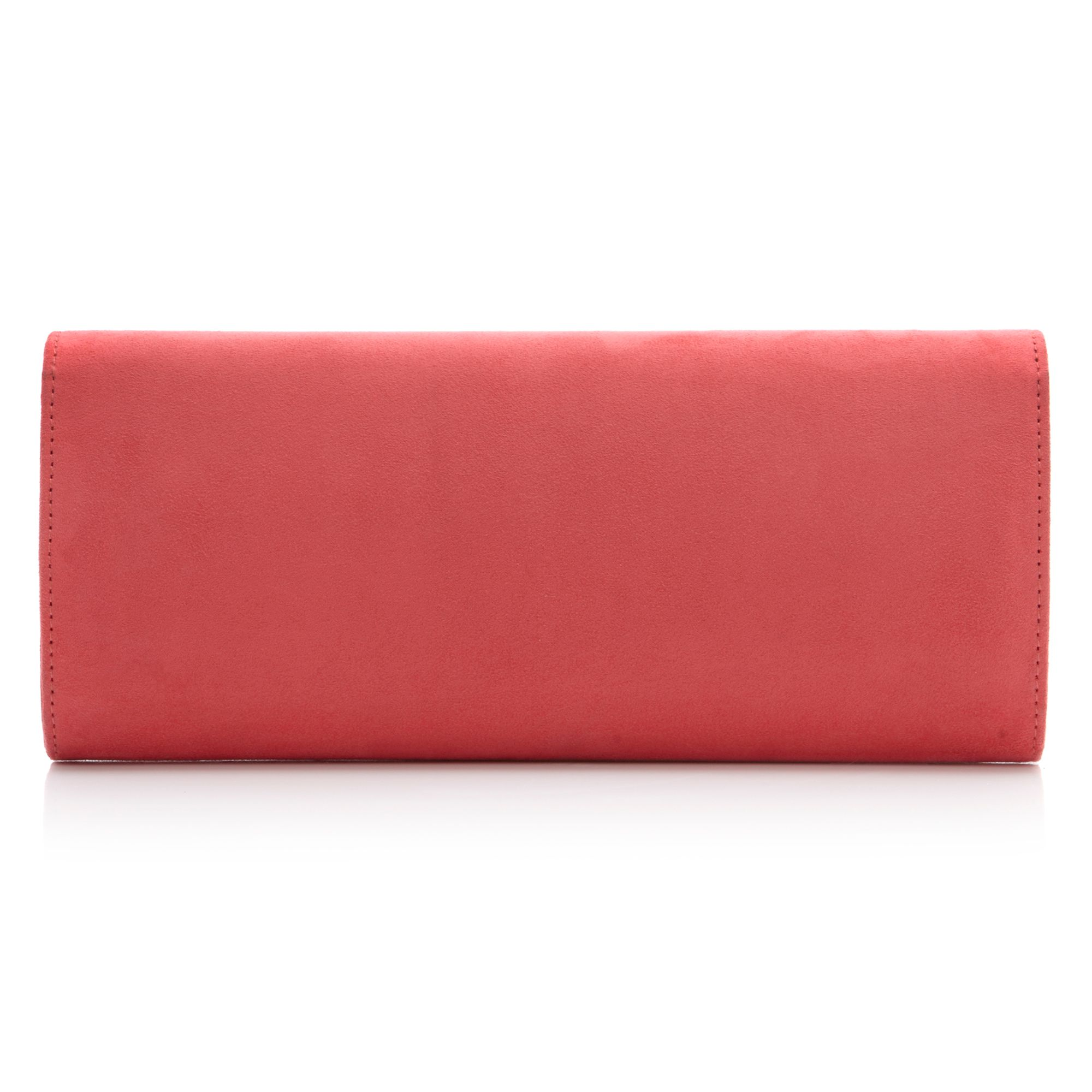 Brantum bow detail clutch bag