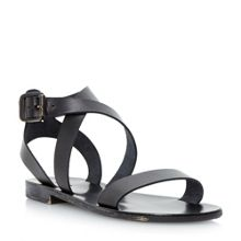 Lotti slotted flat sandals