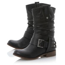 Rafter buckle strap boots