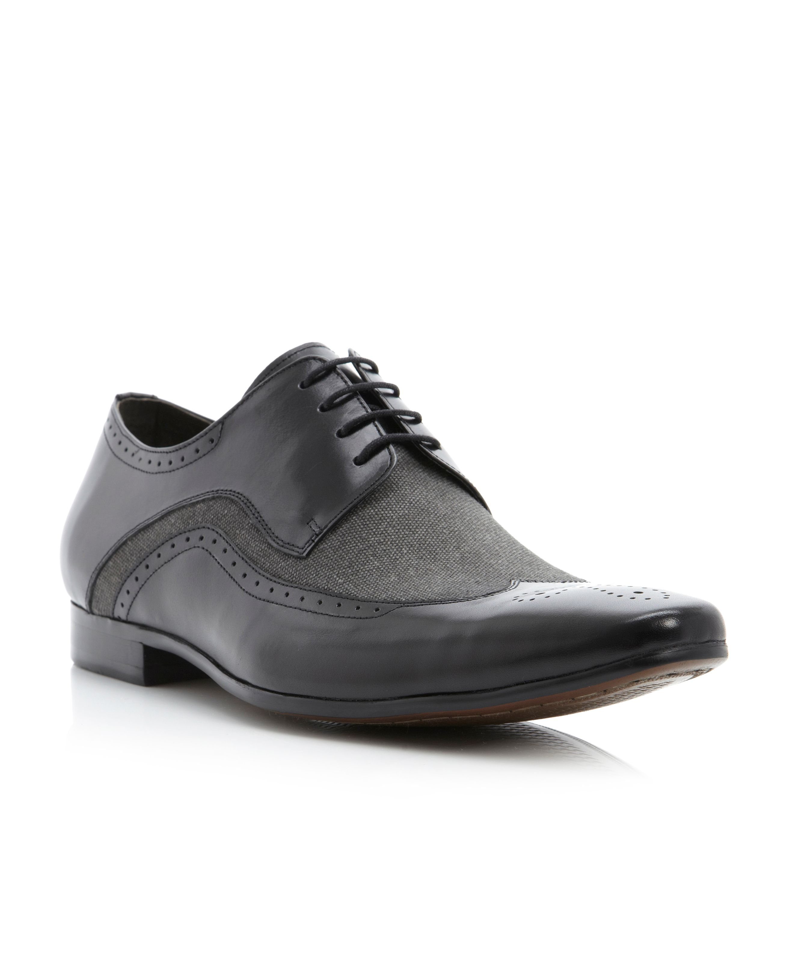 Accredit canvas dtl wingtip lace