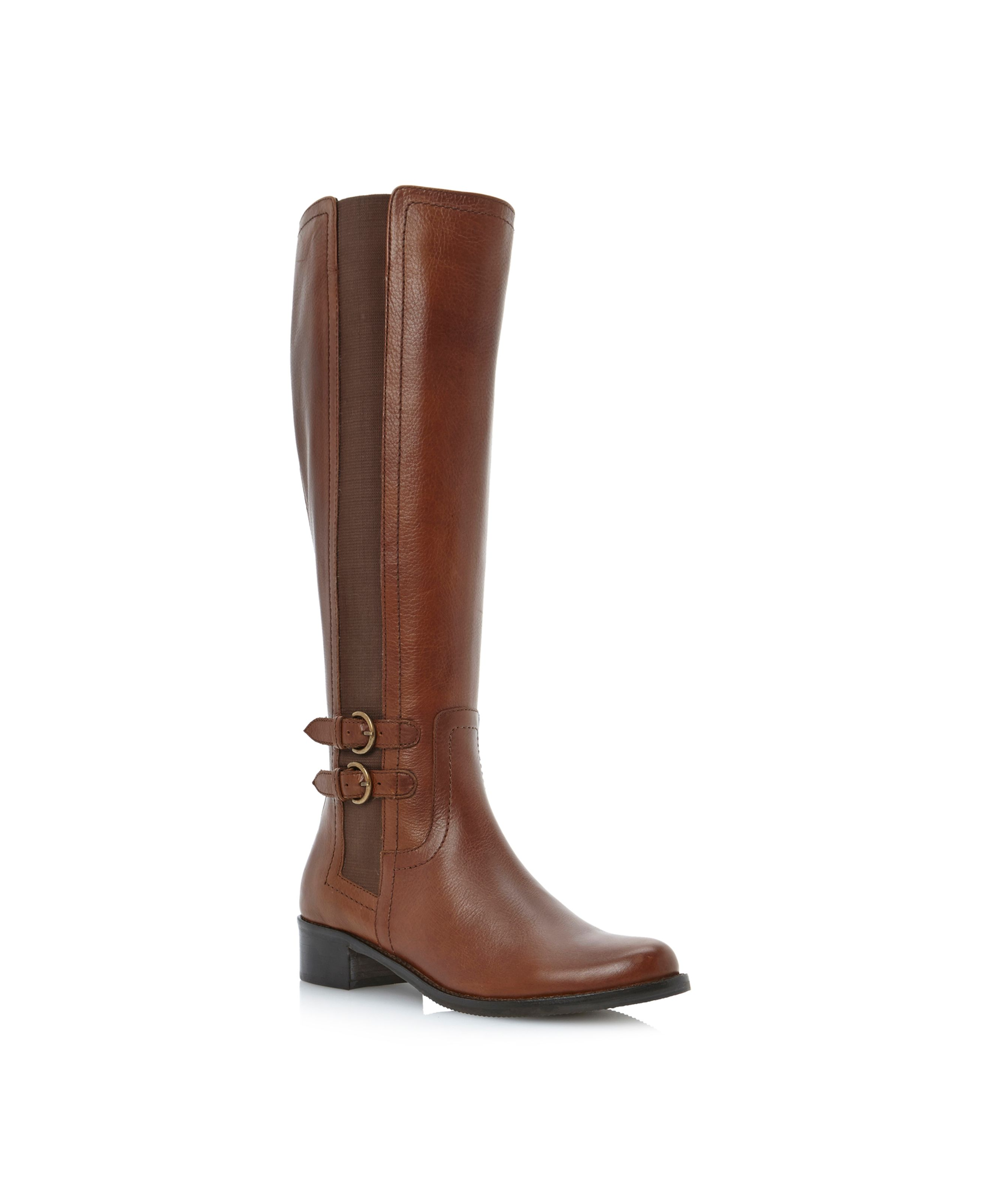 Timpleton two buckle elastic riding boots