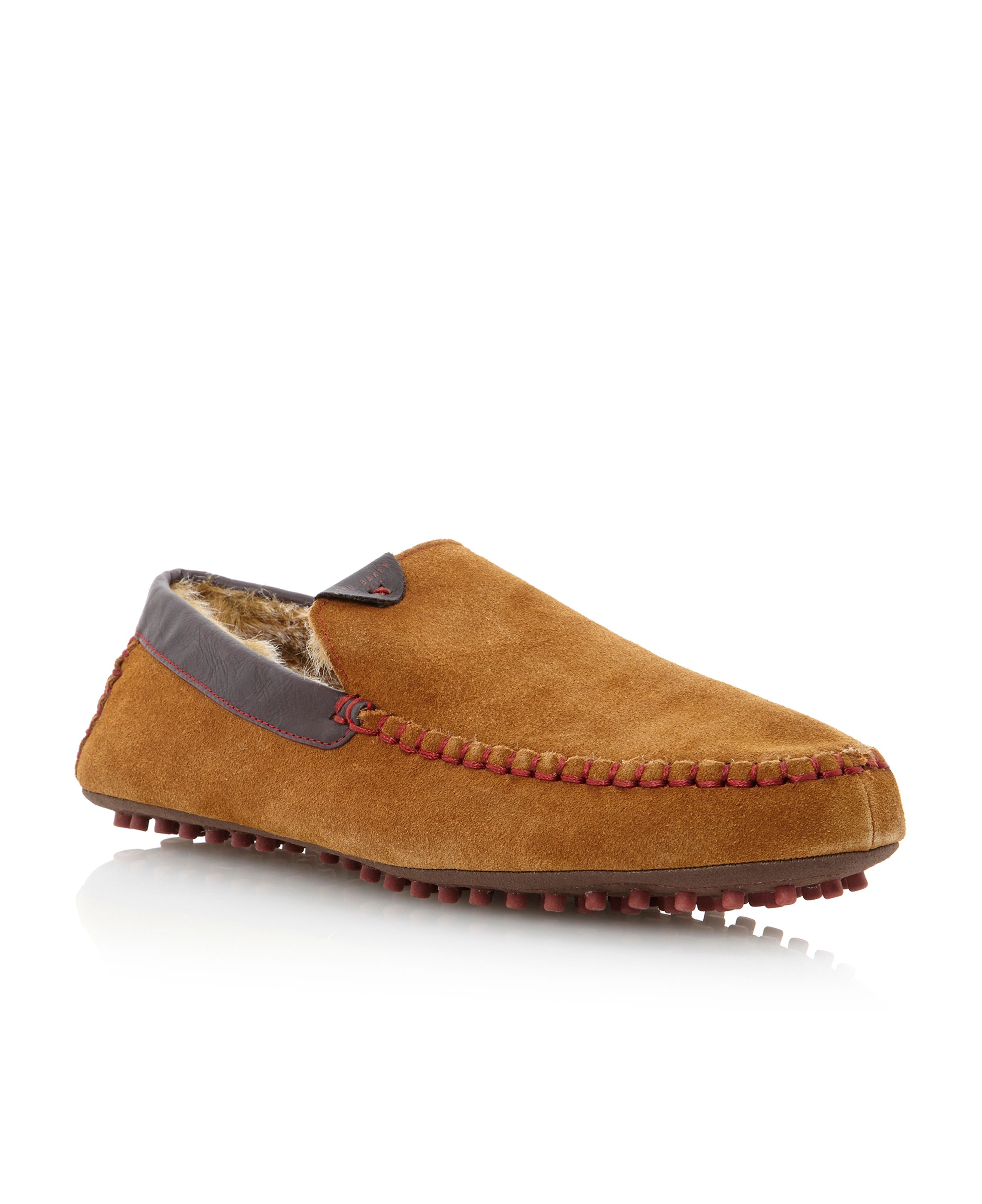 Carota warm lined mocc slipper