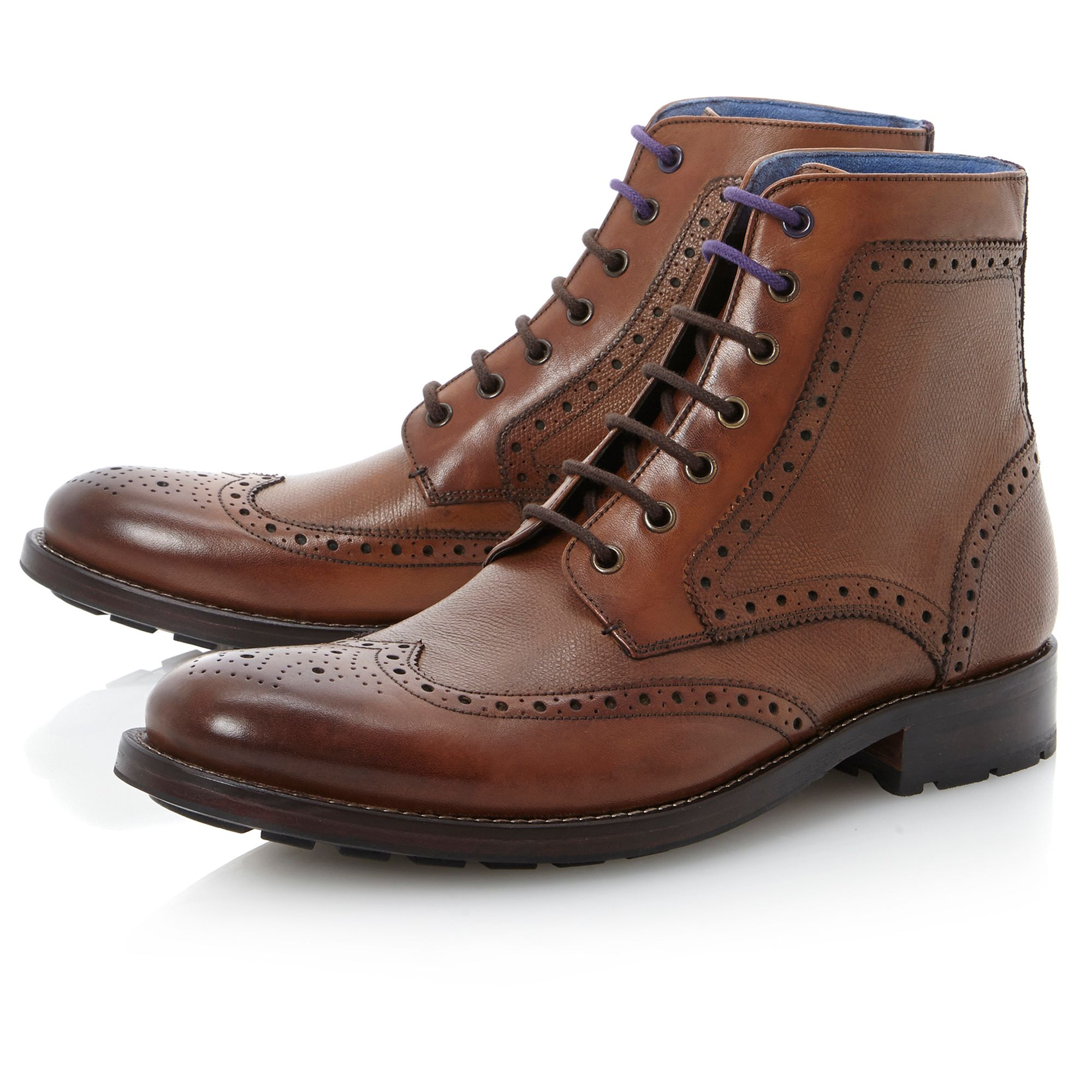 Sealls combination brogue boot