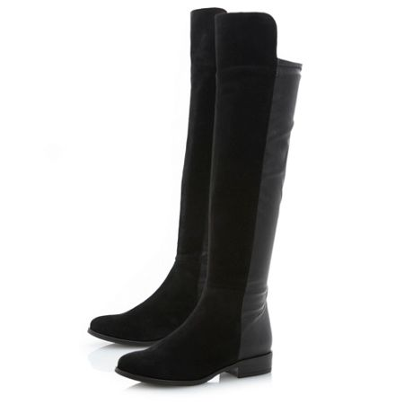 Trish mix material stretch boots